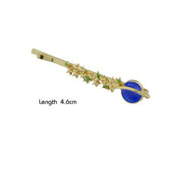 Star Shaped Decoration Hairpin -  BLUE