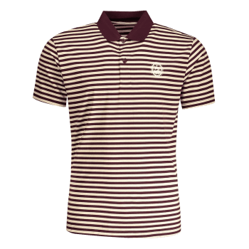 Striped Mens Polo T-shirt - STRIPE 2XL