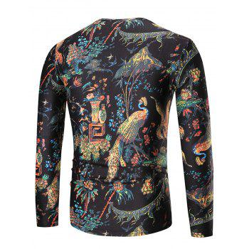 Bird of Wonder Long Sleeve T-shirt - COLORMIX COLORMIX
