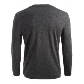 Stretch Long Sleeve T-shirt - 2XL 2XL