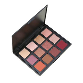 12 Colors Eyeshadow Cosmetic Palette - multicolor