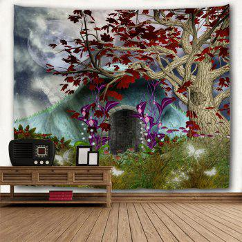 Dreamworld Scenery Hanging Wall Decor Tapestry - COLORMIX W79 INCH * L59 INCH