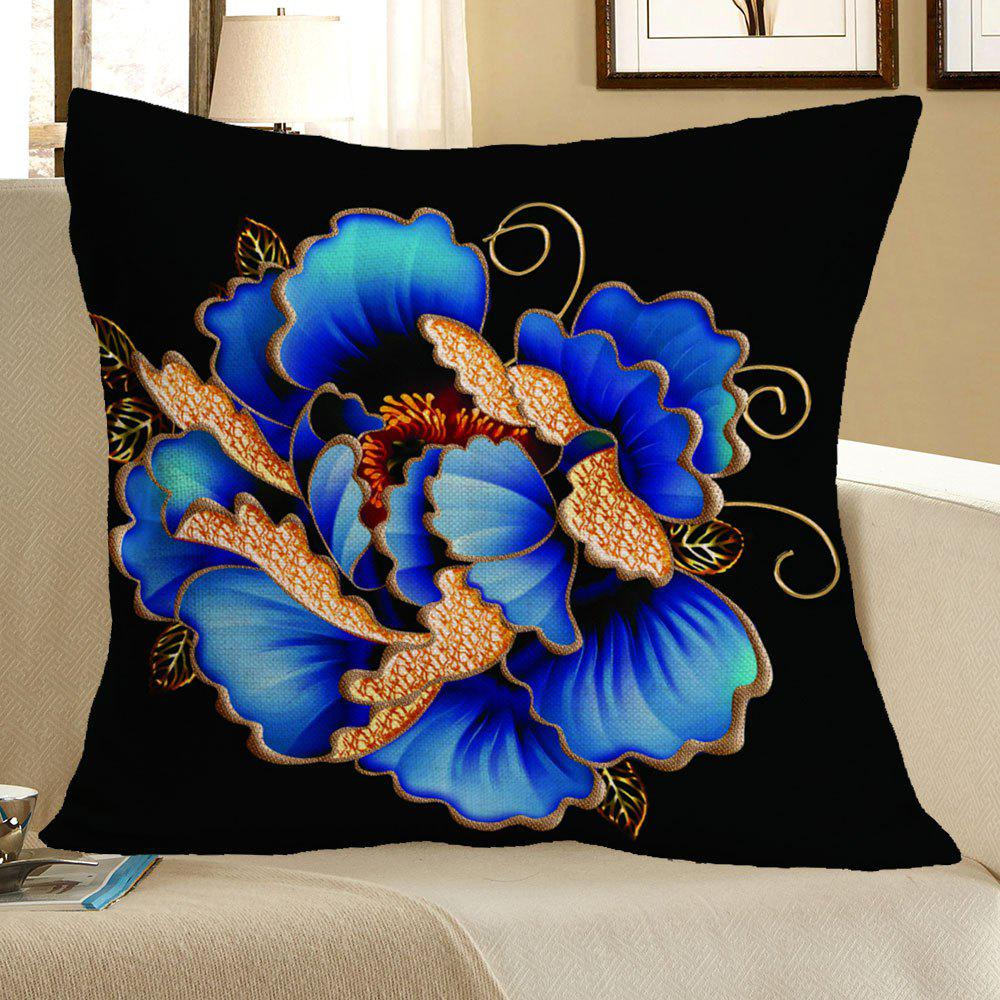 Decorative Pillow Case Patterns : Floral Pattern Decorative Linen Pillow Case, COLORFUL, W INCH L INCH in Decorative Pillows ...