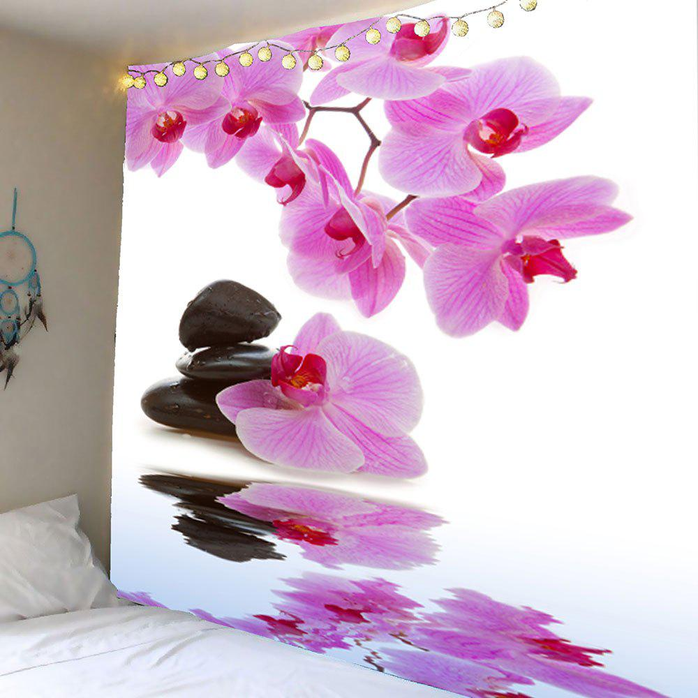 Wall Decor Pond Floral Printed Hanging Tapestry