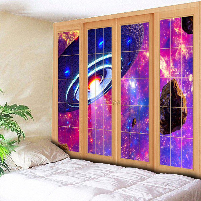 Wall Art Window Flying Saucer Print Tapestry saucer state