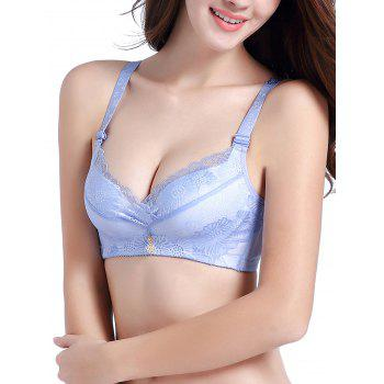 Lace Push Up Daily Bra - CLOUDY 85B