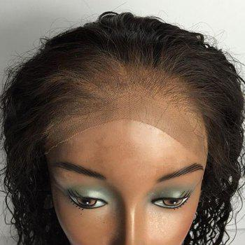 Partie gratuite Long Strauss Straace Lace Front Real Hair Cheveux - Noir
