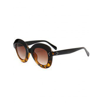 Street Snap Ombre Wide Frame Sunglasses