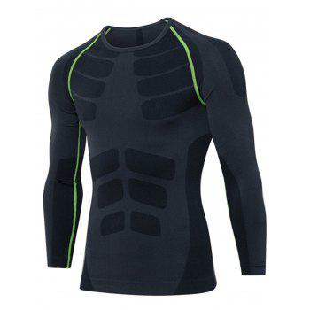 Stretchy Quick Dry Long Sleeve T-shirt