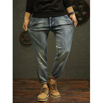 Fade Regular Fit Tapered Jeans - 34 34