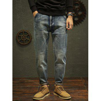 Fade Regular Fit Tapered Jeans - 36 36