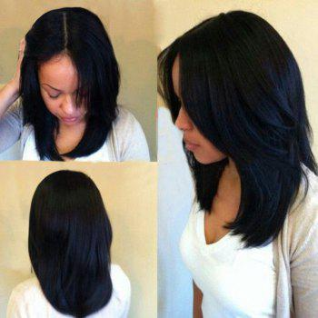 Long Center Part Natural Straight Synthetic Wig