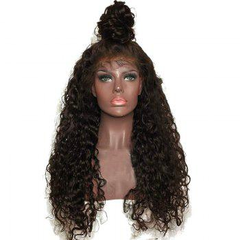 Long Free Part Fluffy Curly Lace Front Synthetic Wig