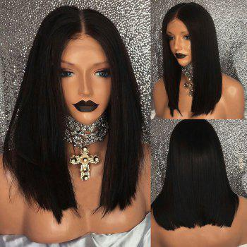 Long Middle Part Straight Bob Synthetic Lace Front Wig