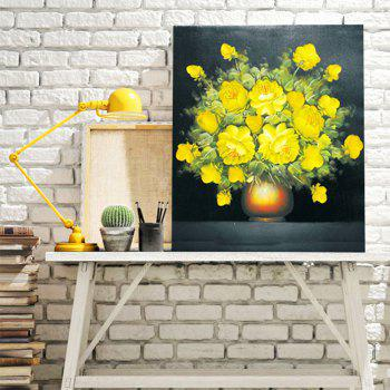 Rosa Chinensis DIY Resin Diamond Paperboard Painting