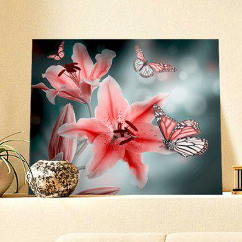 Butterfly Floral DIY 5D Resin Diamond Paperboard Painting