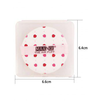 Portable Round Different Rinted Powder Puff with Box -