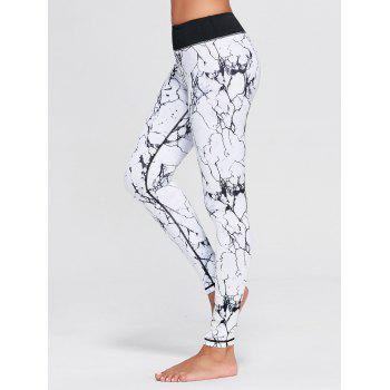 Lightning Pattern Ninth Yoga Tights