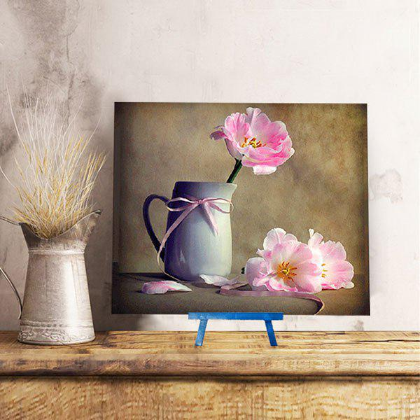 Flower Mug DIY 5D Resin Diamond Paperboard Painting - DAFFODIL YELLOW