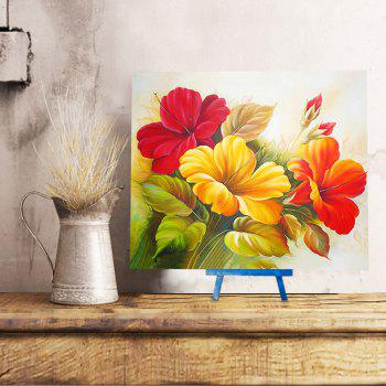 Chinese Hibiscus DIY Resin 5D Diamond Paperboard Painting