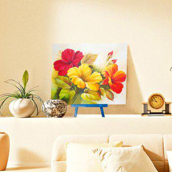 Chinese Hibiscus DIY Resin 5D Diamond Paperboard Painting - COLORFUL