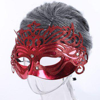 Glittering Hollow Out Halloween Party Mask