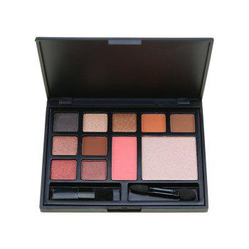 11 Colors Multifunctional Face Cosmetic Palette with Brushes