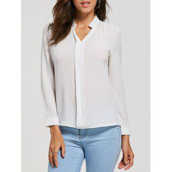 Casual V Neck Blouse