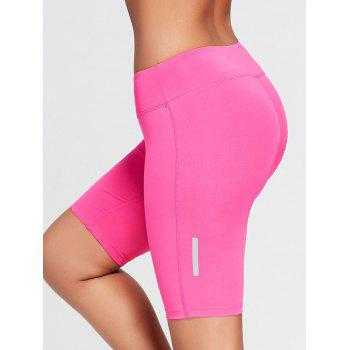 Stretch Tight Running Shorts - TUTTI FRUTTI XS