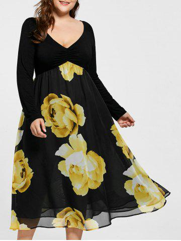 6e84a95e772 2019 Plus Size Yellow Dress Online Store. Best Plus Size Yellow ...