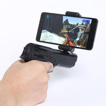 Bluetooth Control VR Shooting Game AR Gun - BLACK BLACK