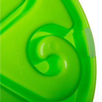 Slow Food Pet Feeder Prevent Choking Dog Bowl -  GREEN