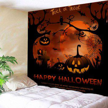 Wall Hanging Happy Halloween Tapestry