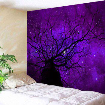 Starry Sky Tree Wall Decoration Tapestry