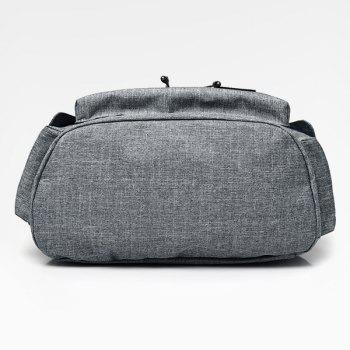 Sac à dos d'interface USB Drawstring - Gris