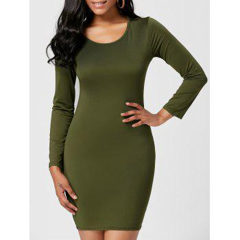 Long Sleeve Short Bodycon Dress