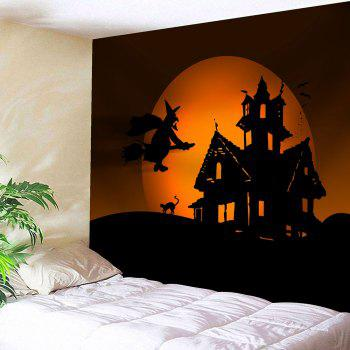 Halloween Witch Print Wall Art Tapestry