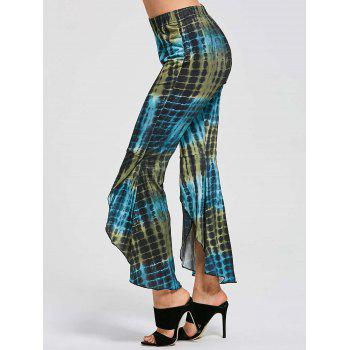 Flare Cover Up High Low Pants - COLORMIX COLORMIX