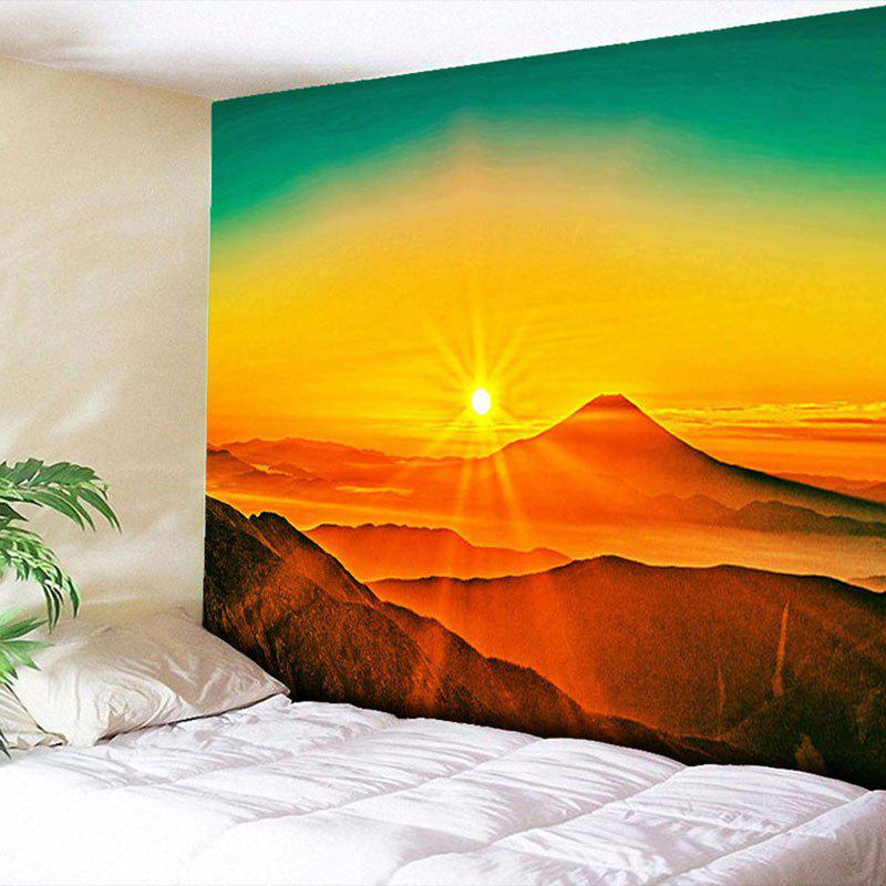 Sunset Printed Wall Hanging Tapestry outer space printed wall hanging tapestry