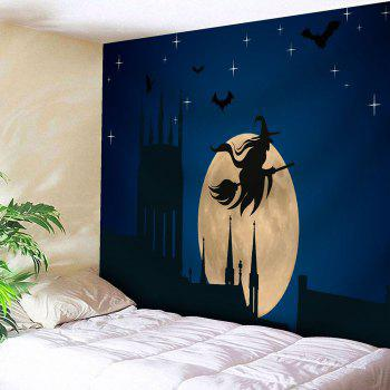 Wall Hanging Halloween Witch Bedroom Tapestry