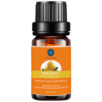 10ml Natural Bergamot Massage Essential Oil - BRIGHT ORANGE