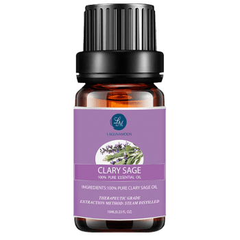 10ml Premium Therapeutic Clary Sage Essential Oil -  PURPLE