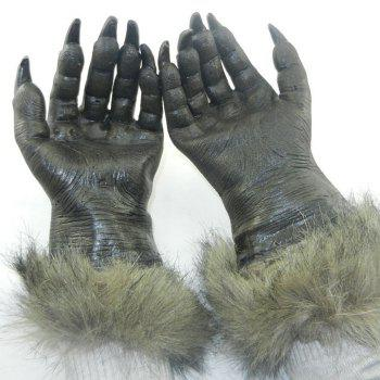 Halloween Party Wolf Claw Gloves