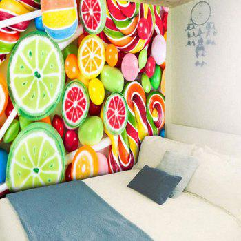 Fruit Sugar Wall Hanging Tapestry - COLORFUL W79 INCH * L59 INCH