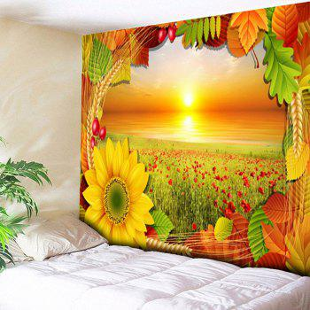 Chrysanthemum Wall Decor Flower Field Tapestry