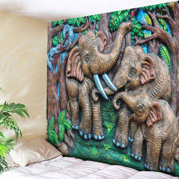 Elephant Wall Hanging Animal Tapestry