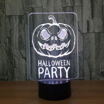 Colors Change Halloween Terrorist Pumpkin Decorative Light -  TRANSPARENT