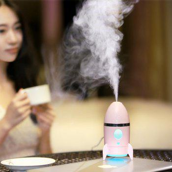 Rocket Air Humidifier With Color Changing LED Light
