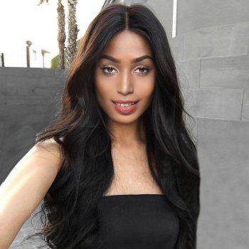 Long Middle Parting Shaggy Wavy Synthetic Wig