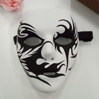 Halloween Party Hand-painted Devil Mask